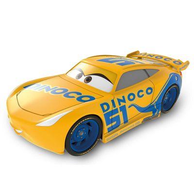 Carrinho-Basico---13-Cm---Disney---Pixar---Cars-3---Dinoco-Amarelo---Toyng