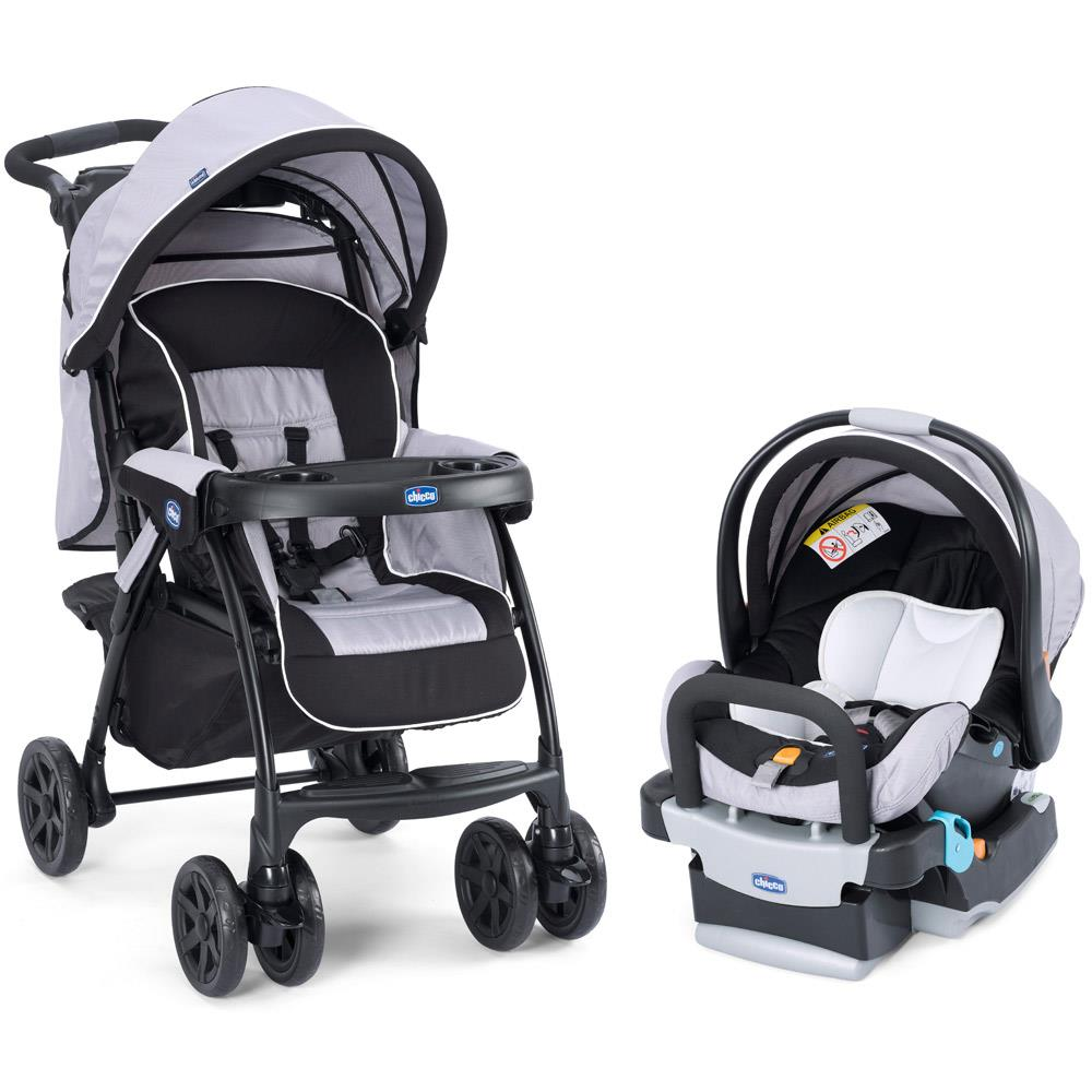 Travel System Duo Today até 15kg - Anthracite - Chicco