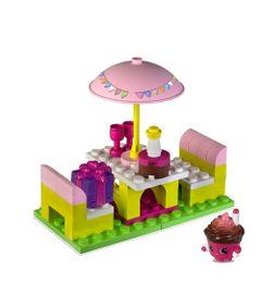 Playset-e-Mini-Figuras---Shopkins---Kinstructions---Party-Fun---DTC