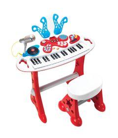 Conjunto-Eletronico---Teclado-Super-Estrela---Yes-Toys