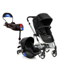 Travel-System---Epic-Light---Onyx-e-Base-para-Bebe-Conforto-Terni-com-IsoFix---Infanti