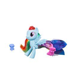 Figura-My-Little-Pony-Movie---15-cm---Moda-Terrestre-e-Marinha---Rainbow-Dash---Hasbro