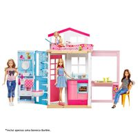 Playset-e-Boneca-Articulada---Barbie---Barbie-Real-e-Sua-Casa---Mattel