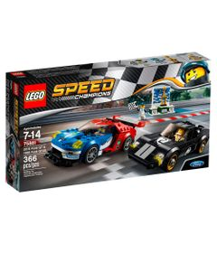 LEGO-Speed-Champions---Ford-GT-2016-e-Ford-GT40-1966---75881
