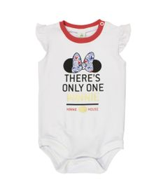 Body-Manga-Curta-com-Babado-em-Cotton---Branco---Be-Minnie---Disney---P