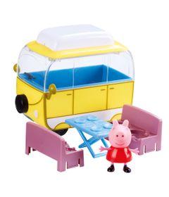 Veiculo-e-Mini-Figura---Peppa-Pig---Trailer-da-Peppa---DTC