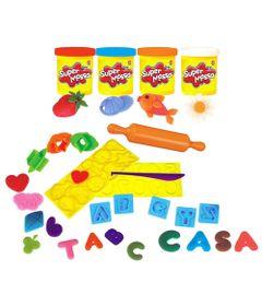 Kit-de-Massas-de-Modelar---Super-Massa---Brincando-na-Escola---4-Super-Potes---Estrela