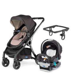 Travel-System-com-Adaptador---Urban-Plus-Keyfit-Night-e-Color-Pack-Plus---Beige---Chicco