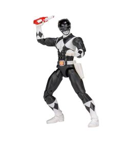 Figura-Articulada---20-Cm---Mighty-Morphin---Power-Rangers---Limited-Edition-Die-Cast---Black-Ranger---Sunny