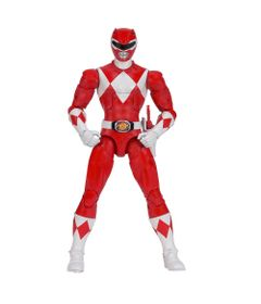 Figura-Articulada---20-Cm---Mighty-Morphin---Power-Rangers---Limited-Edition-Die-Cast---Red-Ranger---Sunny