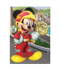 Quebra-Cabeca---200-Pecas---Mickey-Aventuras-Sobre-Rodas---Disney---Toyster