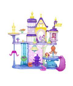 Playset-73-Cm---My-Little-Pony---Castelo-2-em-1-com-Figuras-e-Acessorios---Canterlot-e-Seaquestria---Hasbro