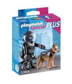 Playmobil---Especial-Plus---Policial-e-Cachorro---5369