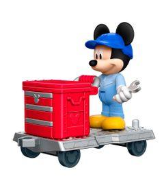 Mini-Figura-10-Cm---Disney---Mickey-Aventura-Sobre-Rodas---Mickey-Engenheiro---Fisher-Price