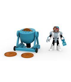 Mini-Figura-e-Veiculo---Imaginext---DC-Comics---Teen-Titans-Go---Ciborg---Fisher-Price