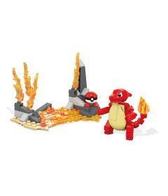 Blocos-de-Montar---Mega-Construx---Pokemon---Charmeleon---Mattel