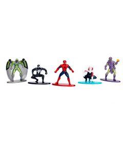 Conjunto-de-5-Mini-Figuras---5-Cm---Nano-Metal---Disney---Marvel---Herois-e-Viloes---Pack-A---DTC