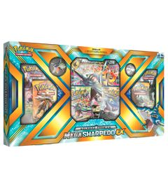 Jogo-Deluxe---Box-Pokemon---Mega-Sharpedo-Ex---Copag