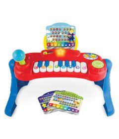Teclado-Musical---Piano-do-Bebe---Vermelho---Winfun