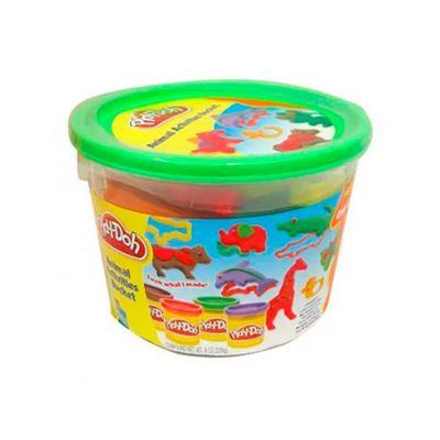 Massinha-Play-Doh---Mini-Balde-Molde-de-Animais---Hasbro