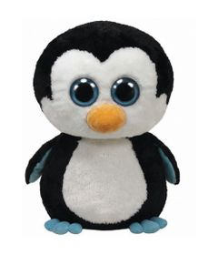 Pelucia-45-Cm---Beanie-Boos---Pelucias-Coloridas---Pinguim---DTC