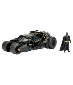 Figura-e-Veiculo-Die-Cast---Metals---DC-Comics---The-Dark-Knight-Batmovel-e-Batman---DTC