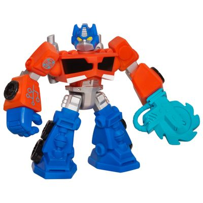 Boneco Transformers Rescue Bots - Optimus Prime - Hasbro