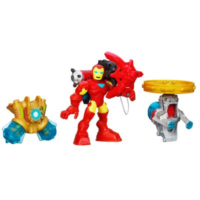 Mini Boneco - Marvel Super Heroes - Iron Man Action Gear - Hasbro