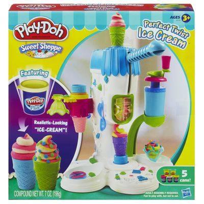 Massinha Play-Doh - Máquina de Sorvete - Hasbro
