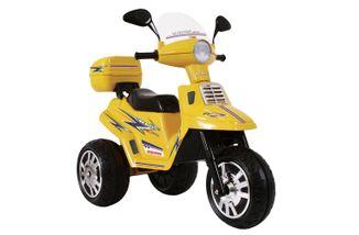 Mini-Moto-Eletrica-Scooter-City-Amarela-6V-Biemme
