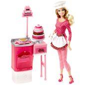 BLL70-Boneca-Barbie-Profissoes-Confeiteira-Mattel