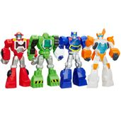 Kit-Transformes-Rescue-Bots-Heatwave-Chase-The-Police-Blades-The-Flight-Boulder-The-Construction
