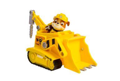 Boneco com Veículo - Patrulha Canina - Rubble Diggin Bulldozer - Sunny
