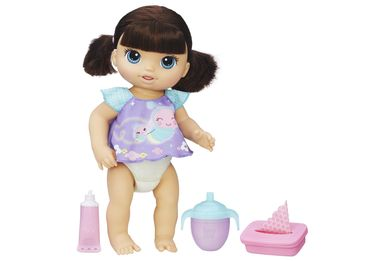 Boneca Baby Alive - Morena - Fralda Magica - B6052 - Hasbro